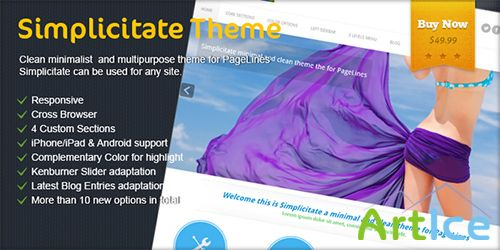 PageLines - Simplicitate v1.2.1 - Theme For WordPress