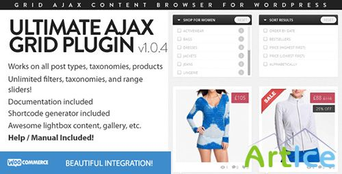 CodeCanyon - Ultimate Ajax Grid WordPress Plugin - v1.0.4