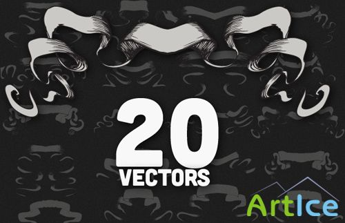 Vector Scrolls Set 3