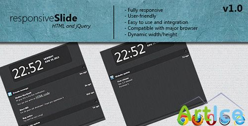 CodeCanyon - responsive Slide notification - RIP