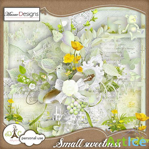 Scrap Set - Small Sweetness PNG and JPG Files