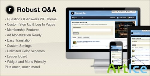 ThemeForest - Robust Q&A v1.0 - FULL