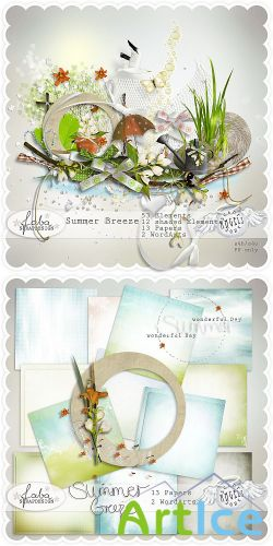 Scrap Set - Summer Breeze