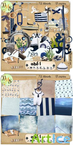 Scrap Set - Ohe Matelot PNG and JPG Files