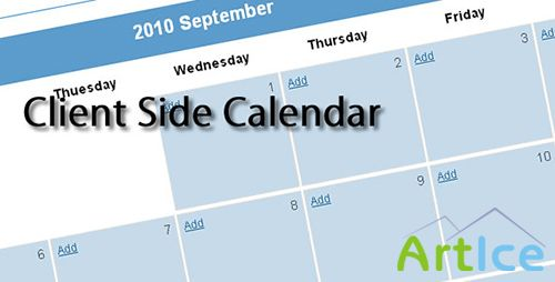 CodeCanyon - Client Side Calendar HTML5
