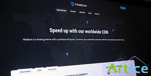 ThemeForest - Hostium - Responsive Hosting Theme - RIP