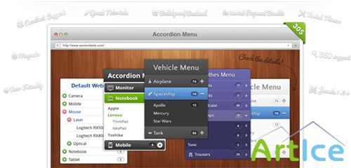 Nextend Accordion Menu for Joomla 2.5 - 3.x