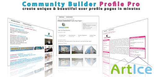 JoomDuck - Community Builder Profile Pro v1.2 for Joomla 2.5