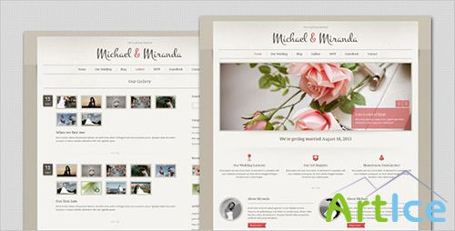 ThemeForest - Wedding - Classic and Elegant HTML Template - RIP