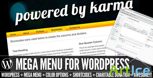 CodeCanyon - PBK Mega Menu v2.0 for Wordpress