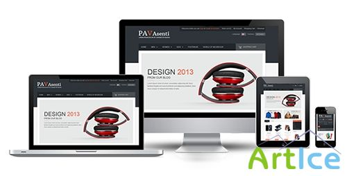 ThemeForest - Pav Asenti Responsive Theme - FULL
