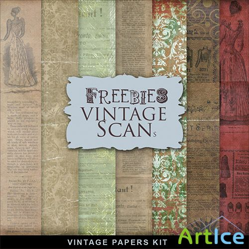 Textures - Old Vintage Backgrounds #143