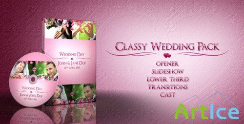 Classy Wedding Pack - Project for After Effects (Videohive)