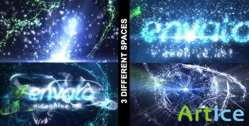 Particle Effect vol.3 (3 in 1) — Project for After Effects (Videohive)