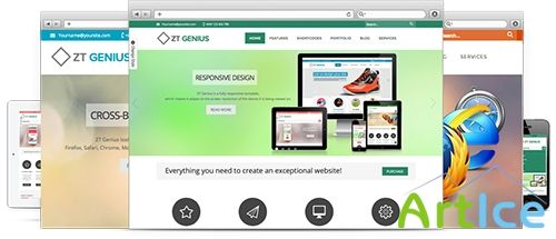 ZooTemplate - ZT Genius for Joomla 2.5