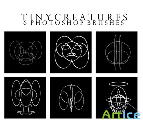 ABR Brushes - Tiny Creatures