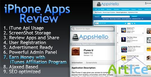 CodeCanyon - Appstore iPhone-iPad Apps Review v1.2