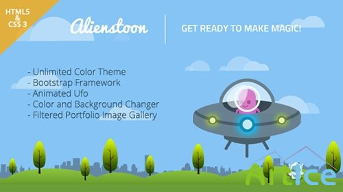 Mojo-Themes - Alienstoon - CV/Resume Responsive Template - RIP
