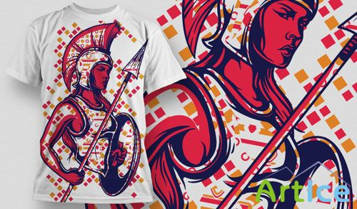 T-Shirt Vector Design 630