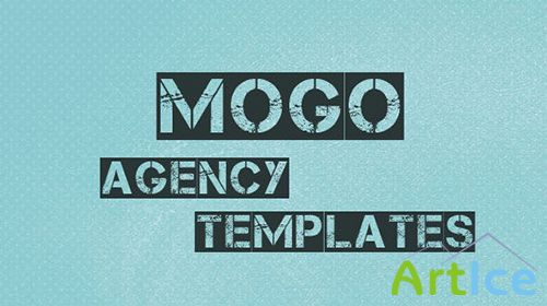 Mojo-Theme - mogo one page Interface design - RIP