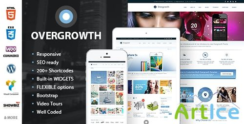 ThemeForest - Overgrowth v1.0.9 - Retina Responsive Multi-Purpose Theme