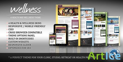 ThemeForest - Wellness v1.50 - A Health & Wellness WordPress Theme
