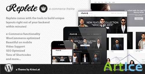 ThemeForest - Replete e-Commerce and Business Woocommerce Theme v1.4.1