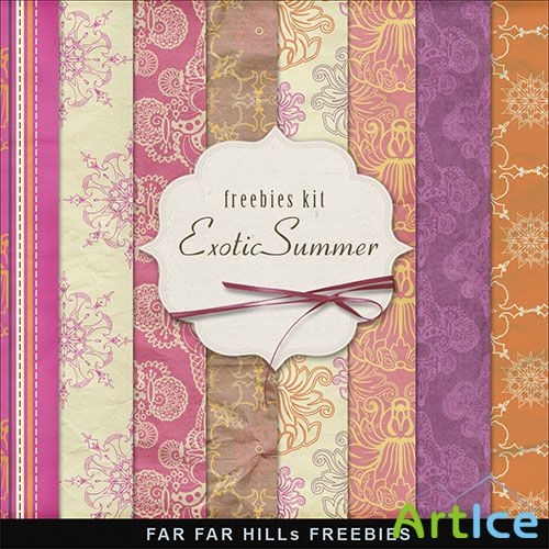 Textures - Exotic Summer Backgrounds 2013