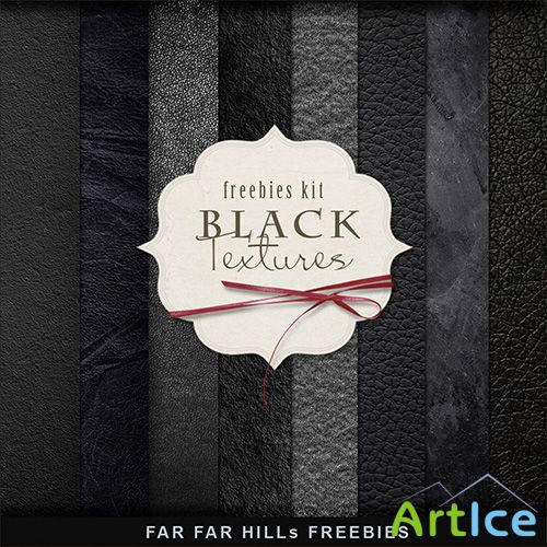Textures - Black Leather Backgrounds 2013