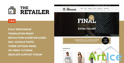 ThemeForest - The Retailer v1.6 - Retina Responsive WooCommerce Theme