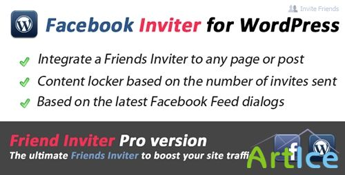 CodeCanyon - Facebook Inviter and Content Locker v2.0.3 for WordPress