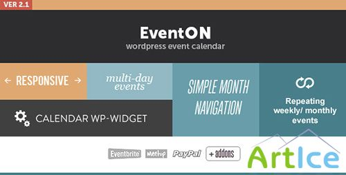 CodeCanyon - EventOn v2.1.8 - WordPress Event Plugin