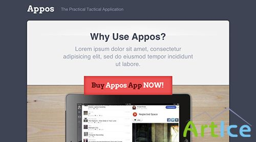 ThemesKingdom - Appos v1.1.5 - Landing WordPress Theme