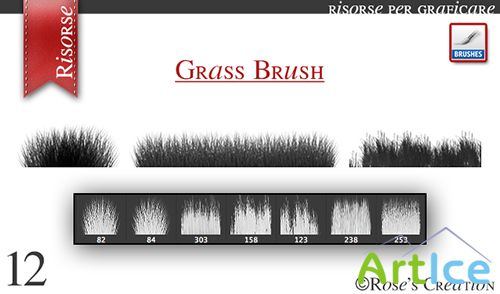 ABR Brushes - Grass Mix