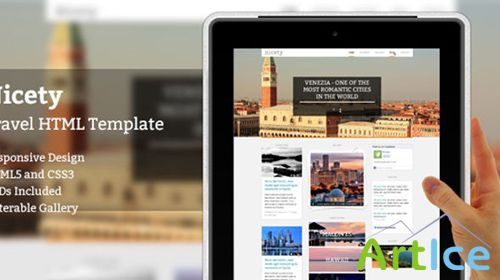 Mojo-Themes - Nicety - Travel HTML Template - RIP