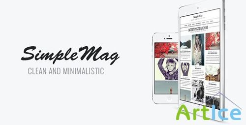 ThemeForest - SimpleMag v1.4 - Magazine theme for creative stuff