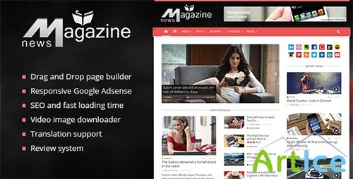 ThemeForest - Magazinly v1.5 - Theme For WordPress