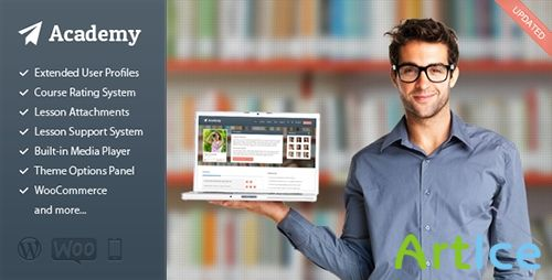 ThemeForest - Academy v1.10 - Learning Management Theme