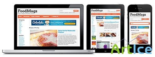 ColorlabsProject - Foodmagz v1.1.6 - Premium WordPress Theme