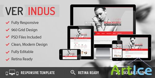 ThemeForest - VerIndus - Simplified Creative - RIP