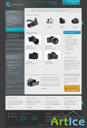 RocketTheme - RT Mercado v1.2 - Template For WordPress