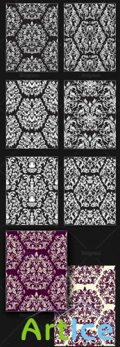 Seamless Patterns Vector Pack 148