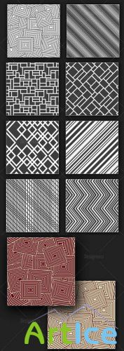 Seamless Patterns Vector Pack 162