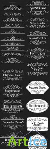 Ornamental Floral Vector Pack 158
