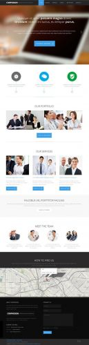 YooJoomla - Corpvision v1.0 - Slick Corporate Joomla Template