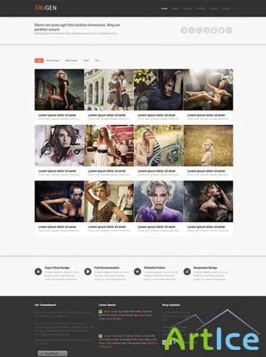 DreamTemplate - trugen - Responsive Website Template