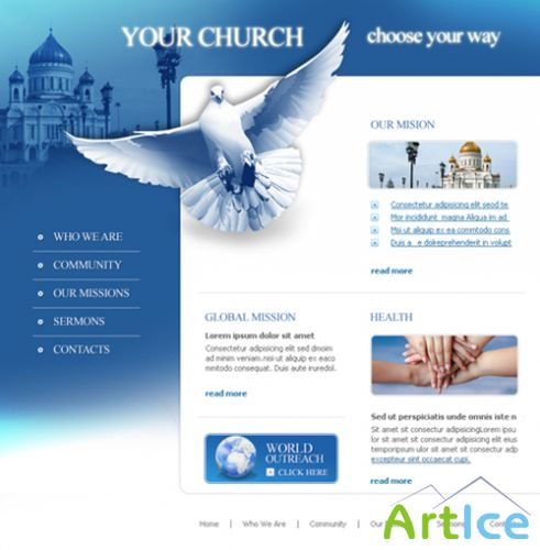 DreamTemplate - Flash - Social & Holidays - 3545 - You Church