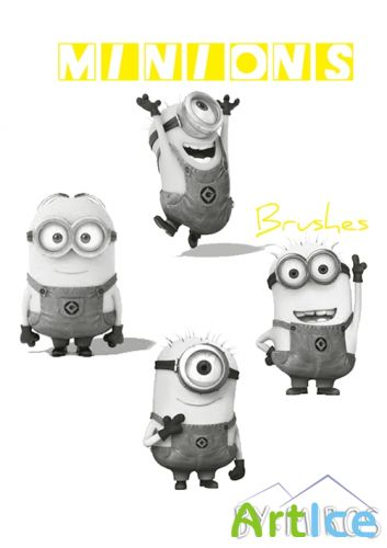 ABR Brushes - Despicable Me 2