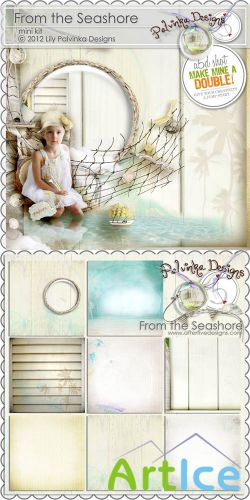 Scrap Set - From the Seashore PNG and JPG Files