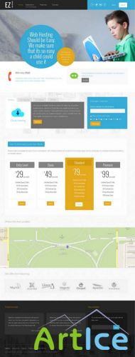 Shape5 - EZ Web Hosting - Template For Joomla 2.5 & 3.1